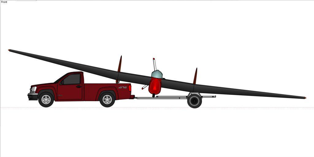 AV-36 on trailer